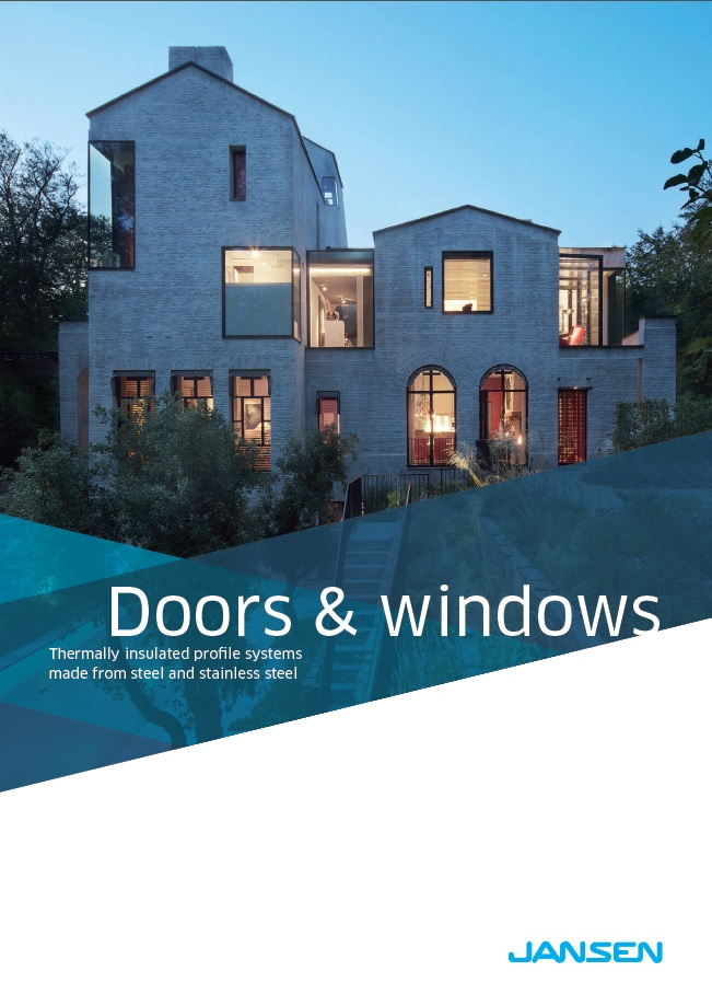 Jansen Thermally insulated doors and windows