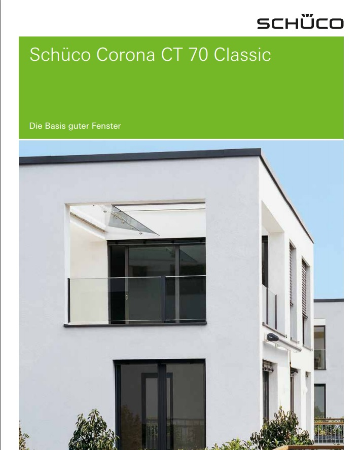 Schüco Window System CT 70 AS